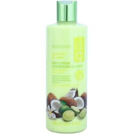 Grace Cole Fruit Works Coconut & Lime hydratačné telové mlieko bez parabénov  500 ml