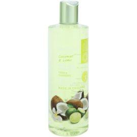 Grace Cole Fruit Works Coconut & Lime osvěžující sprchový gel bez parabenů  500 ml