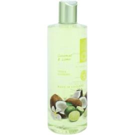 Grace Cole Fruit Works Coconut & Lime erfrischendes Duschgel ohne Parabene  500 ml