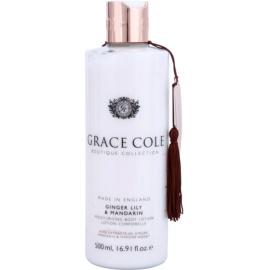 Grace Cole Boutique Ginger Lily & Mandarin hidratáló testápoló tej  500 ml