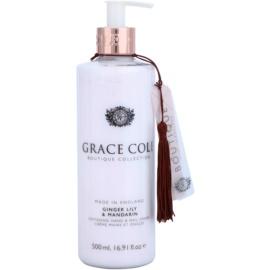 Grace Cole Boutique Ginger Lily & Mandarin creme amaciador para mãos e unhas  500 ml