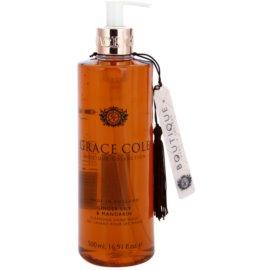Grace Cole Boutique Ginger Lily & Mandarin folyékony szappan kézre  500 ml