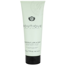 Grace Cole Boutique Grapefruit Lime & Mint unt de corp de lux   225 g