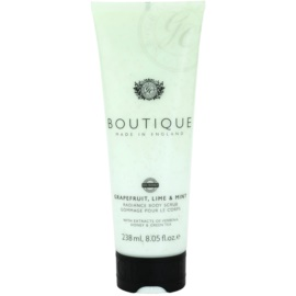 Grace Cole Boutique Grapefruit Lime & Mint élénkítő testpeeling  238 ml
