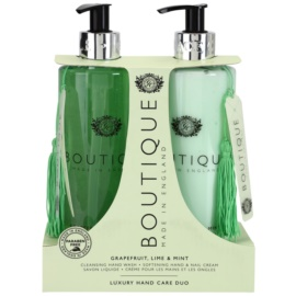 Grace Cole Boutique Grapefruit Lime & Mint kozmetická sada I.