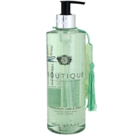 Grace Cole Boutique Grapefruit Lime & Mint sabonete líquido para mãos  500 ml