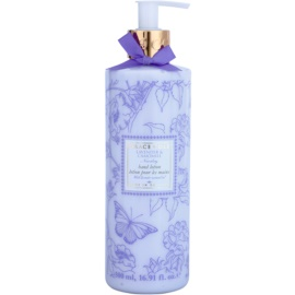 Grace Cole Floral Collection Lavender & Camomile mléko na ruce  500 ml