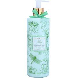 Grace Cole Floral Collection Lily & Verbena losjon za roke  500 ml