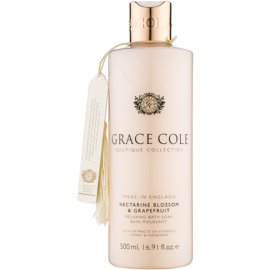 Grace Cole Boutique Nectarine Blossom & Grapefruit relaxační pěna do koupele  500 ml