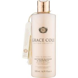 Grace Cole Boutique Nectarine Blossom & Grapefruit piana relaksująca do kąpieli  500 ml