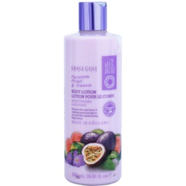Grace Cole Fruit Works Passion Fruit & Guava hydratisierende Körpermilch ohne Parabene  500 ml