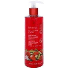 Grace Cole Fruit Works Strawberry & Kiwi folyékony szappan kézre  500 ml
