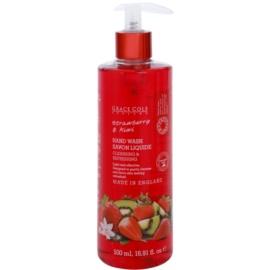 Grace Cole Fruit Works Strawberry & Kiwi tekuté mydlo na ruky  500 ml