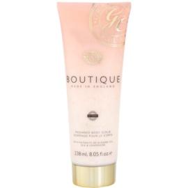 Grace Cole Boutique Vanilla Blush & Peony exfoliante corporal iluminador  238 ml