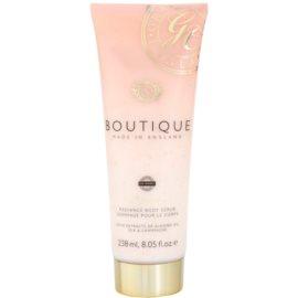 Grace Cole Boutique Vanilla Blush & Peony rozjasňujúci telový peeling  238 ml