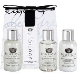 Grace Cole Boutique White Nectarine & Pear kosmetická sada II.