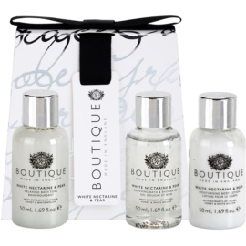 Grace Cole Boutique White Nectarine & Pear Kosmetik-Set  II.