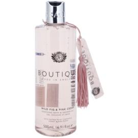 Grace Cole Boutique Wild Fig & Pink Cedar gel de duche e banho suave  500 ml