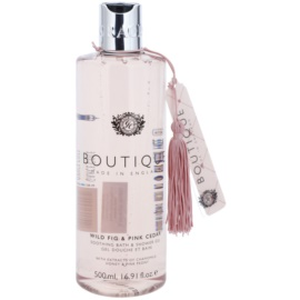 Grace Cole Boutique Wild Fig & Pink Cedar Calmant Baie & Gel de dus  500 ml
