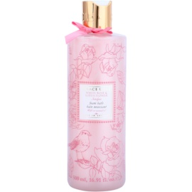 Grace Cole Floral Collection White Rose & Lotus Flower pěna do koupele  500 ml