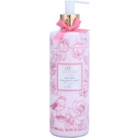 Grace Cole Floral Collection White Rose & Lotus Flower mleczko do rąk  500 ml