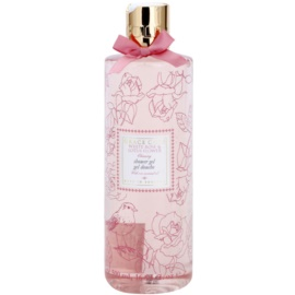 Grace Cole Floral Collection White Rose & Lotus Flower sprchový gel  500 ml