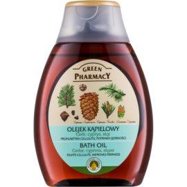 Green Pharmacy Body Care Cedar & Cypress & Algae olej do kúpeľa  250 ml