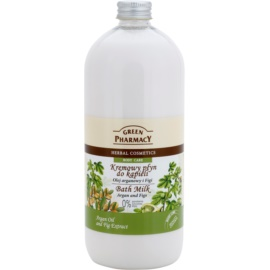 Green Pharmacy Body Care Argan Oil & Figs fürdő tej  1000 ml
