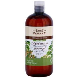 Green Pharmacy Body Care Argan Oil & Figs gel za prhanje  500 ml