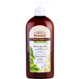 Green Pharmacy Body Care Aloe & Rice Milk Hydrating Body Lotion with Nourishing Effect  500 ml