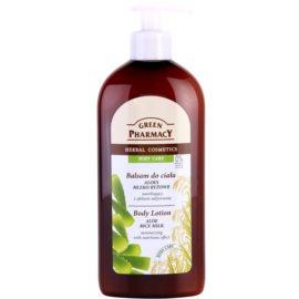 Green Pharmacy Body Care Aloe & Rice Milk hydratisierende Körpermilch mit nahrhaften Effekt  500 ml