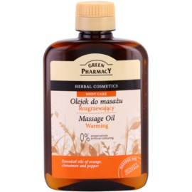 Green Pharmacy Body Care wärmendes Massageöl  200 ml