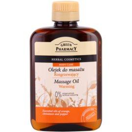 Green Pharmacy Body Care hrejivý masážny olej  200 ml