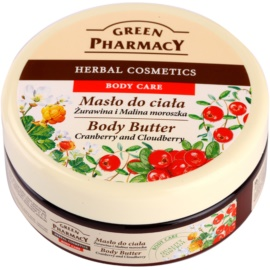 Green Pharmacy Body Care Cranberry & Cloudberry manteiga corporal   200 ml