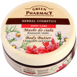 Green Pharmacy Body Care Chamomile & Ginger manteiga corporal   200 ml