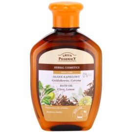 Green Pharmacy Body Care Clove & Lemon koupelový olej  250 ml