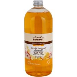 Green Pharmacy Body Care Honey & Rooibos espuma de banho  1000 ml