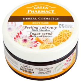 Green Pharmacy Body Care Honey & Rooibos cukrový peeling  300 ml