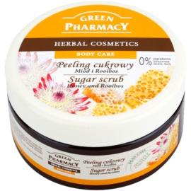 Green Pharmacy Body Care Honey & Rooibos cukrový peeling  300 ml