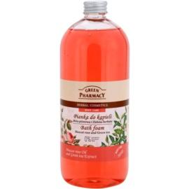 Green Pharmacy Body Care Muscat Rose & Green Tea Badschaum  1000 ml