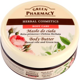 Green Pharmacy Body Care Muscat Rose & Green Tea manteiga corporal   200 ml