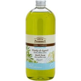 Green Pharmacy Body Care Olive & Rice Milk pena do kúpeľa  1000 ml