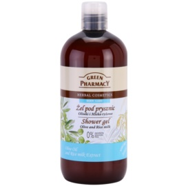 Green Pharmacy Body Care Olive & Rice Milk душ гел   500 мл.