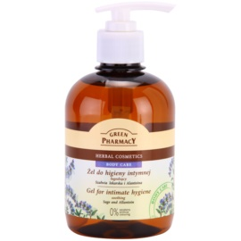 Green Pharmacy Body Care Sage & Allantoin upokojujúci gél na intímnu hygienu  370 ml