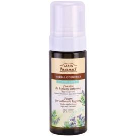 Green Pharmacy Body Care Sage & Lavender pena na intímnu hygienu  150 ml