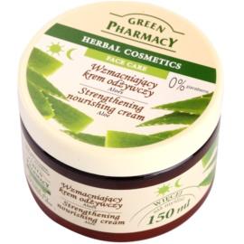 Green Pharmacy Face Care Aloe posilující výživný krém  150 ml