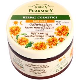 Green Pharmacy Face Care Calendula osvěžující hydratační krém pro dehydratovanou suchou pleť  150 ml