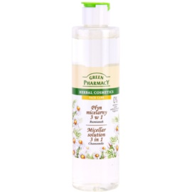 Green Pharmacy Face Care Chamomile мицеларна вода 3 в 1  250 мл.