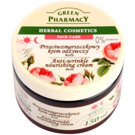 Green Pharmacy Face Care Rose výživný protivráskový krém  150 ml