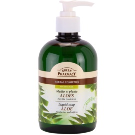 Green Pharmacy Hand Care Aloe рідке мило  465 мл